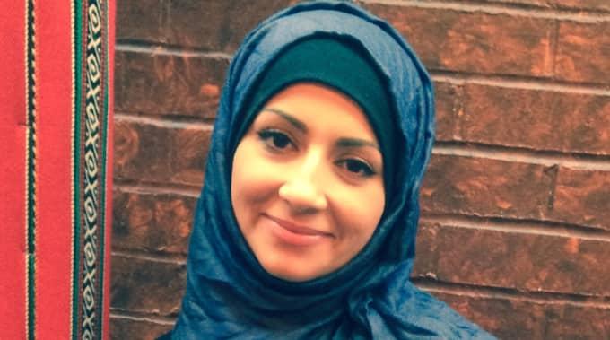 """Läkaren Hala Qatanini fick en chock när en ökänd kvinna började skrika """"jävla mördare"""" efter henne på parkeringen utanför Gävle sjukhus. Foto: Privat"""