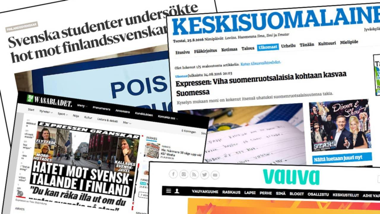 Starka reaktioner efter Geos reportage om svensktalande i Finland