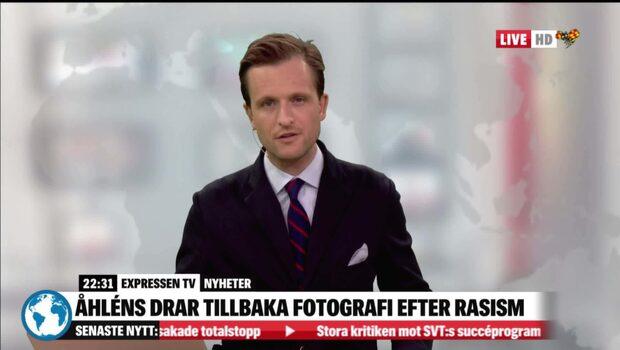 Åhléns drar tillbaka luciafoto efter rasiststormen