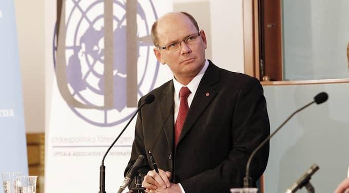Urban Ahlin, socialdemokraternas utrikespolitiske talesperson och vice ordförande i Utrikesutskottet. Foto: Cornelia Nordström