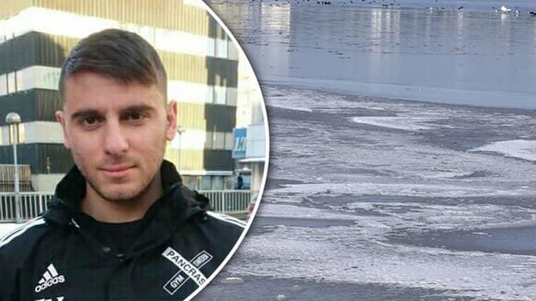 """""""Det går inte ens att beskriva det man har varit med om"""", säger Elias en vecka efter räddningsinsatsen."""