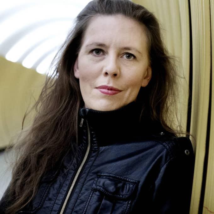 Martina Montelius, teaterdirektör på Brunnsgatan 4, författare och medarbetare i Expressen Kultur. Foto: Robban Andersson