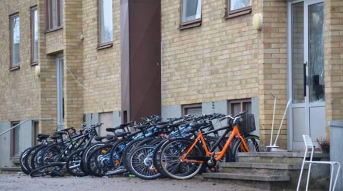 Anledningen till bråket ska ha varit allmänt missnöje, enligt Ingela Crona, inre beväl vid polisen i Kalmar. Foto: Göran Johansson