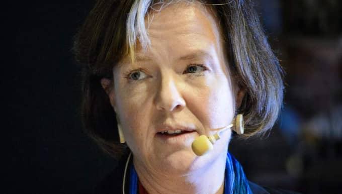 CARIN JÄMTIN, är Socialdemokraternas partisekreterare. Foto: Ludvig Thunman