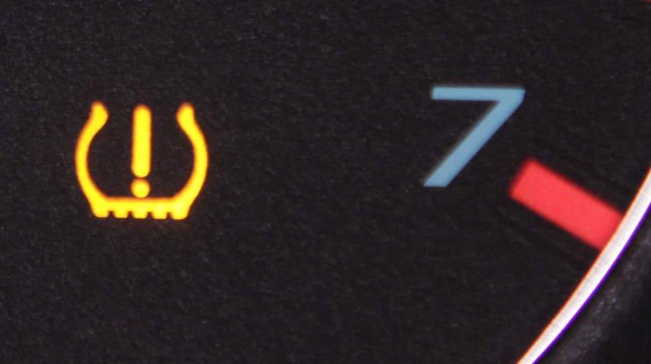 varningslampa däcktryck