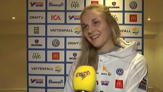 """Stina Nilsson: """"Kan inte förneka det"""""""