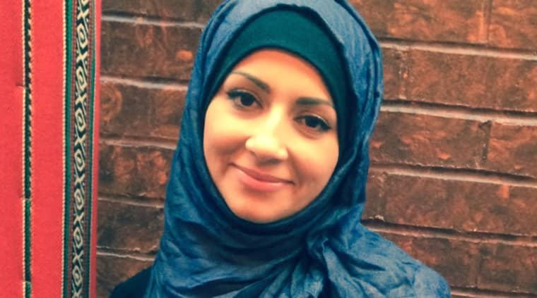 """Hala Qatanani som bär slöja och jobbar på Gävle sjukhus fick nyligen höra att hon är en """"mördare"""" och en """"jävla muslim"""" av en okänd kvinna på gatan."""