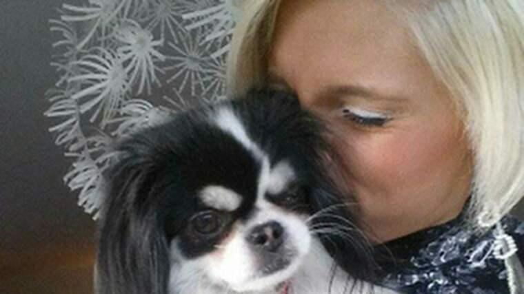 """""""Där och då tänkte jag bara att jag inte skulle släppa taget om mina hundar"""", säger Camilla. Foto: Privat"""