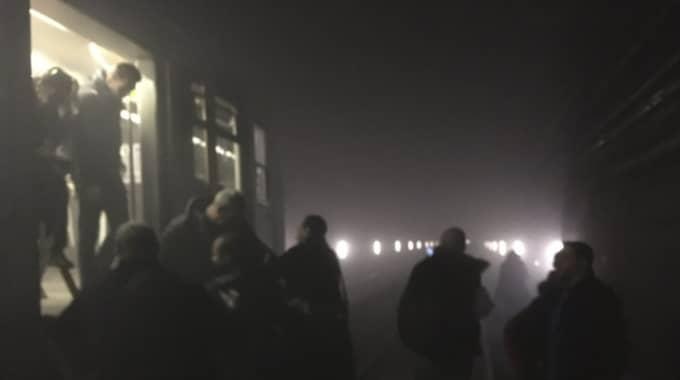 Svenskan skadades svårt efter explosionen i tunnelbanan. Foto: All over press