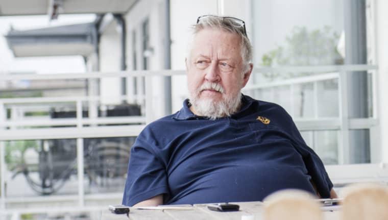 Leif GW Persson Foto: Simon Hastegård