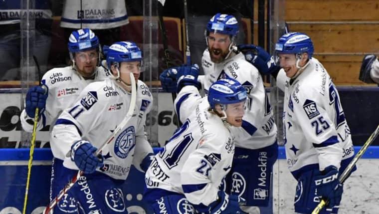 Leksand firar. Foto: Nisse Schmidt/Tt / TT NYHETSBYRÅN