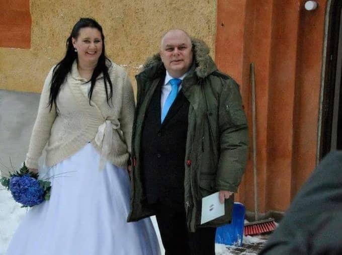 De gifte sig 2012. Foto: Privat
