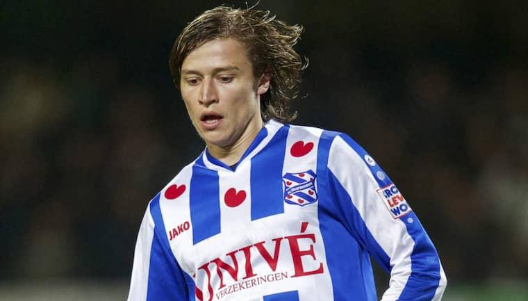 Simon Thern plågas av skadeproblem i Heerenveen. Foto: Voetbal International