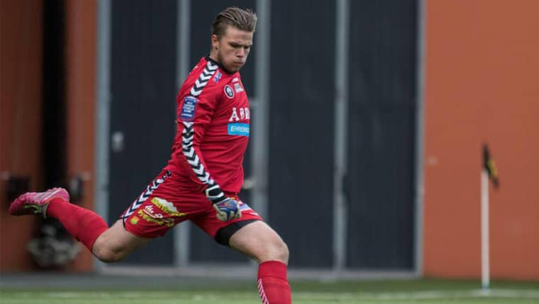 Tobias Johansson. Foto: Line Skaugrud Landevik