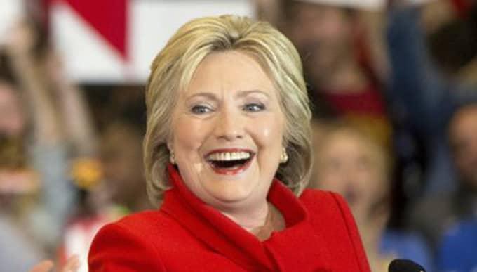 HIllary Clintons stab har utropats som segrare. Foto: Andrew Harnik/AP