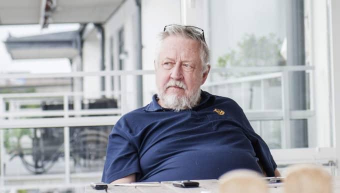 Leif GW Perssoner berättar för Expressen om hur han aldrig försonades med modern. Foto: Simon Hastegård