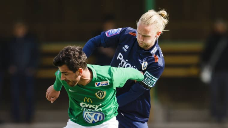 Jesper Westermark i Utsikten-tröjan. Foto: Daniel Malmberg/All Over Press