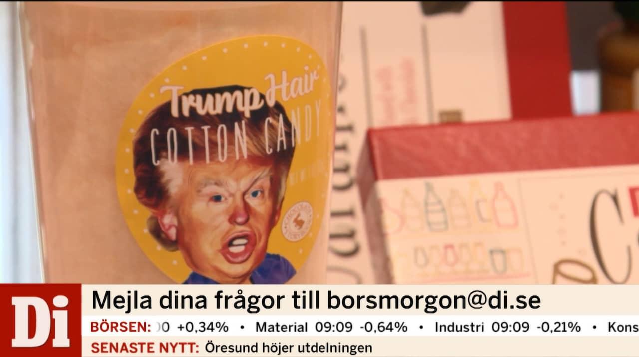 Donald Trumps frisyr blir sockervadd