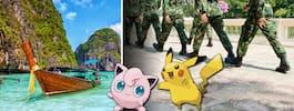Thailands militär vill locka turister – med Pokémon Go