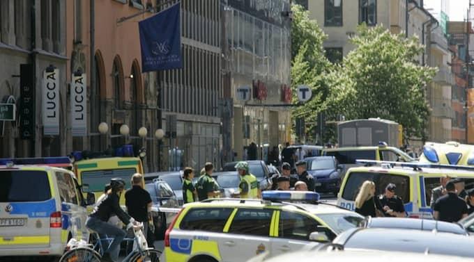 Det är oklart vad rånarna kom över i rånet mot Stockholms Auktionsverk. Foto: Janne Åkesson
