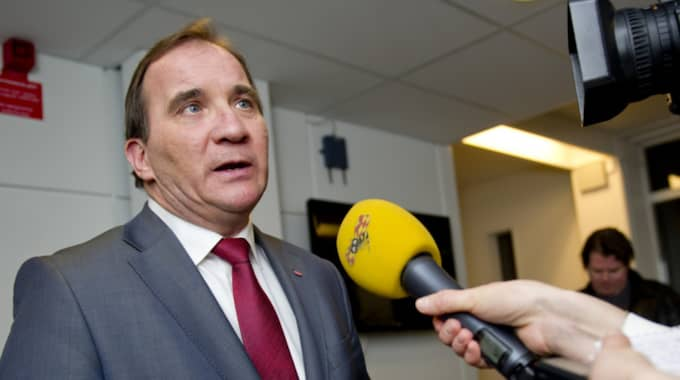 Stefan Löfven (S). Foto: Sara Strandlund