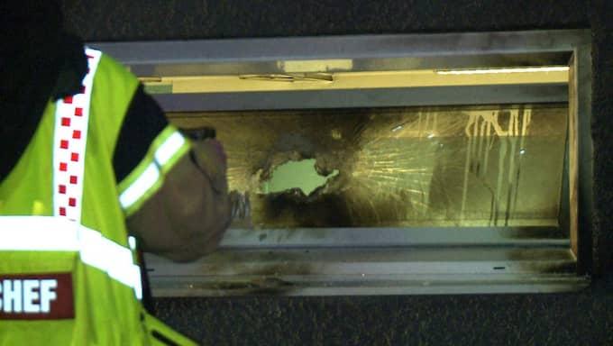 Klockan 03.15 fick ledningscentralen larm om en brand i en moské i Eslöv. Foto: MIkael Nilsson