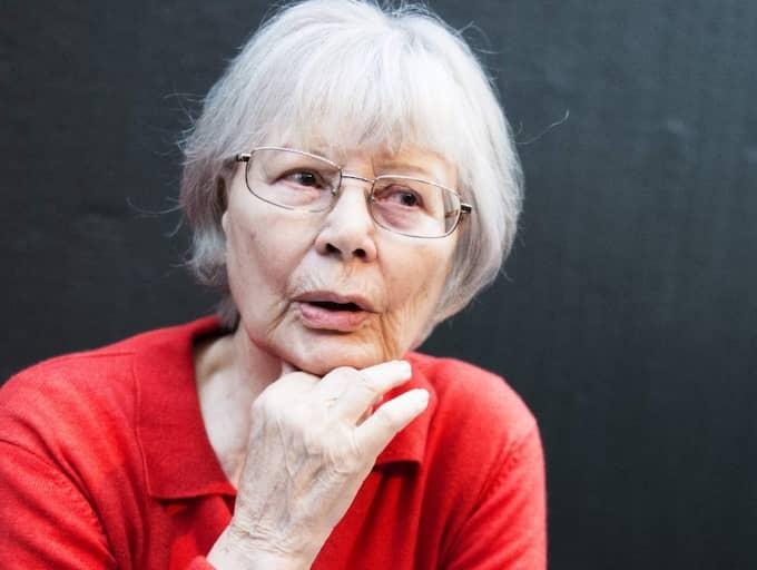 """""""Jag har tagit mig samma friheter som män i alla tider tagit sig"""", Harriet Andersson. Foto: Anna-Karin Nilsson"""