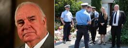 Familjefejd om Helmut Kohls begravning