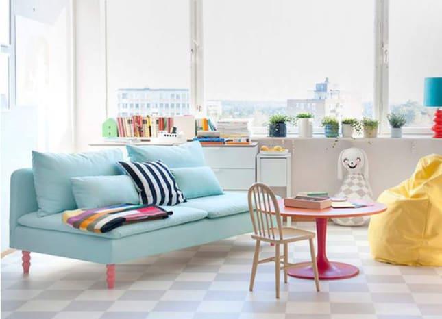 Blatt Kok Ikea :  ikea  Bemz soljer soff och fotoljoverdrag till olika Ikea soffor