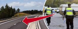 Polisens offensiv mot de kriminella längs E6