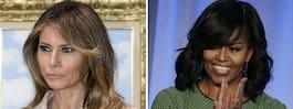 Ilska när Melania Trump ratas från modelistan