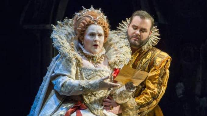 """""""Maria Stuarda"""" på Kungliga Operan. Foto: Kungliga Operan."""