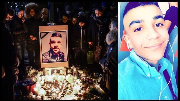 Ahmed, 16, blev fotad efter mordet