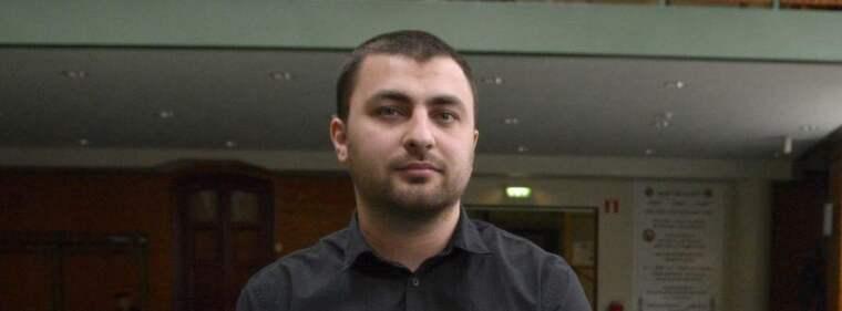 Omar Mustafa, nyvald ledamot i Socialdemokraternas partistyrelse. Foto: Janerik Henriksson / Scanpix
