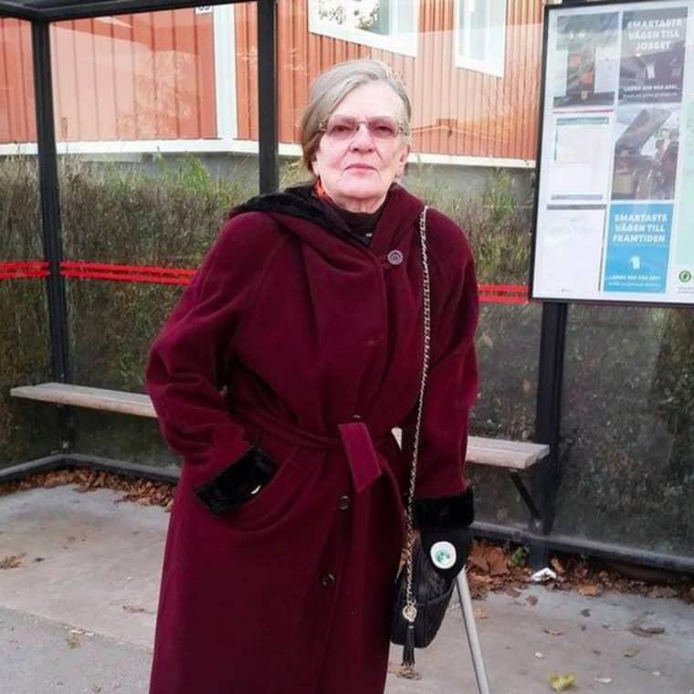 78-åriga Britt-Marie från Sundsvall har under det senaste året kämpat mot vad som har verkat vara en uppförsbacke utan topp. Foto: Privat