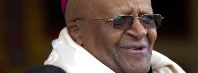 Desmond Tutu vårdas på sjukhus för en infektion. Foto: Ashwini Bhatia