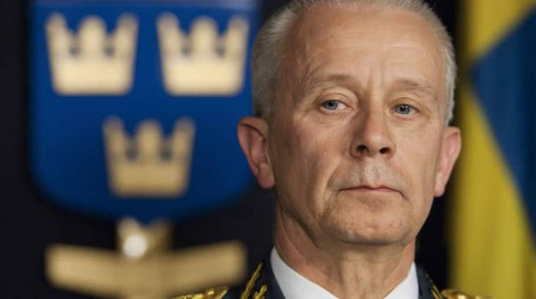 ÖB Sverker Göranson. Foto: Stefan Forsell