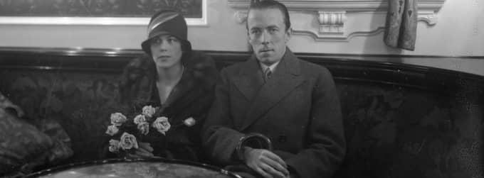 Folke Bernadotte med släktens första Estelle (född Manville).