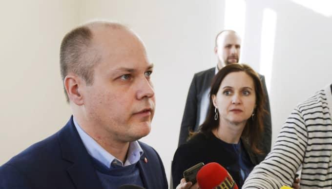 Nu är migrationsminister Morgan Johansson, S, beredd att strama åt flyktingpolitiken ännu mer. Foto: Janerik Henriksson/TT