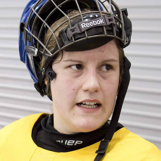 Emma Eliasson tvingas lämna återbud Foto: Sven Lindwall