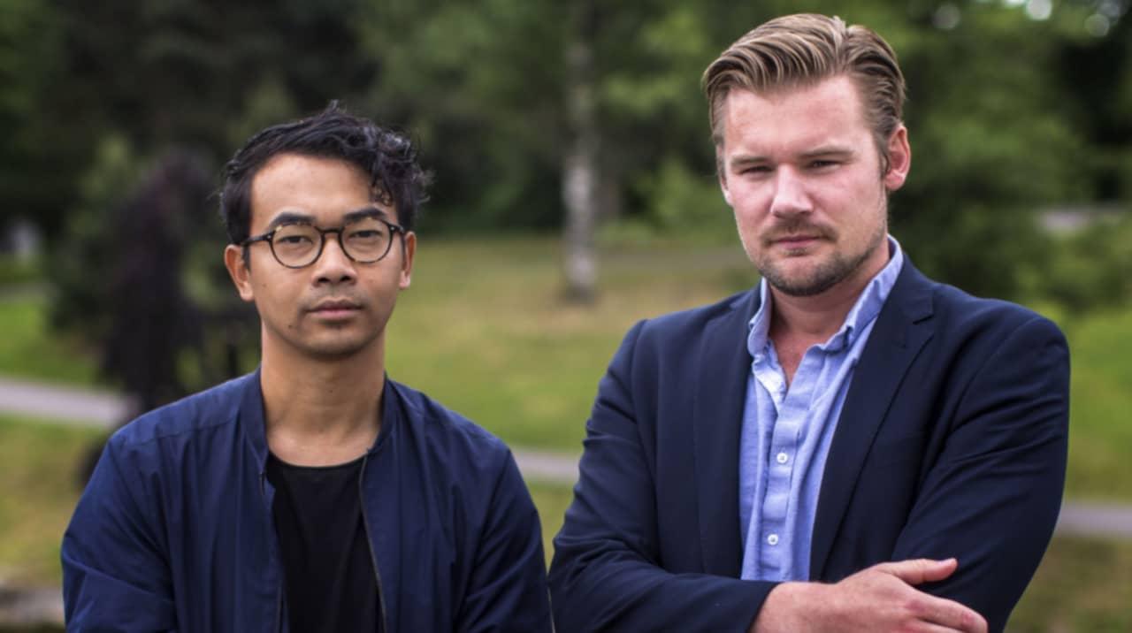 Henrik Jansson och Claes Petersson