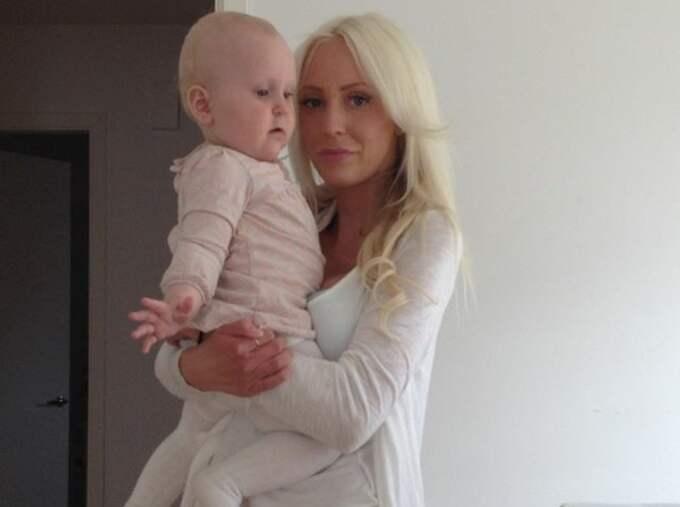 Mamma Alexandra hade en mysstund tillsammans med dottern Nova, 1, och sonen Lukaz, 5, när den tragiska olyckan inträffade. Foto: Privat