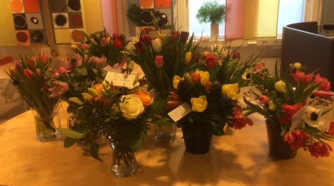 """Efter att debattartikeln publicerades har Anders Karlsson fått hyllningar från hela landet. """"Stationen har svämmat över med blommor och presenter"""". Foto: Privat"""