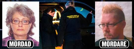 MÖRDAREN. Leif Johansson, 42, (till höger) dömdes till femton års fängelse för att ha mördat Eva-Lott Karlsson (till vänster) genom strypning i jakten på att komma över hennes kontokort.