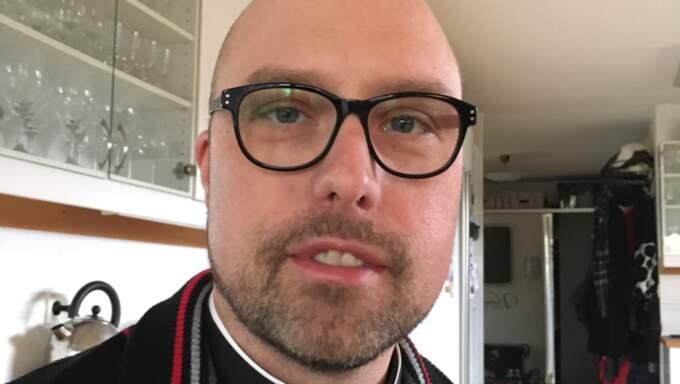 Håkan Persson, kyrkoherde i Markaryd. Foto: Privat