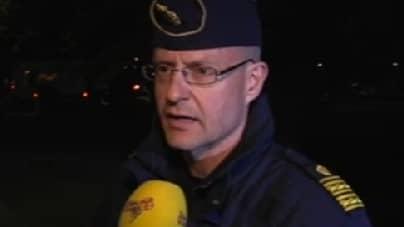 Länspolismästare Mats Löfving.