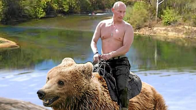 Det ryska syftet med propagandan är att sänka förtroendet för svenska medier och politiker. Foto: Montage