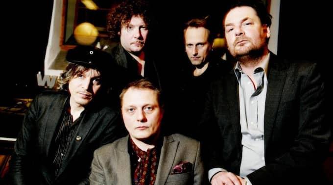 """Låten Lisa Ekdahl sjöng på är bandets låt """"The burden"""". Foto: Olle Sporrong"""