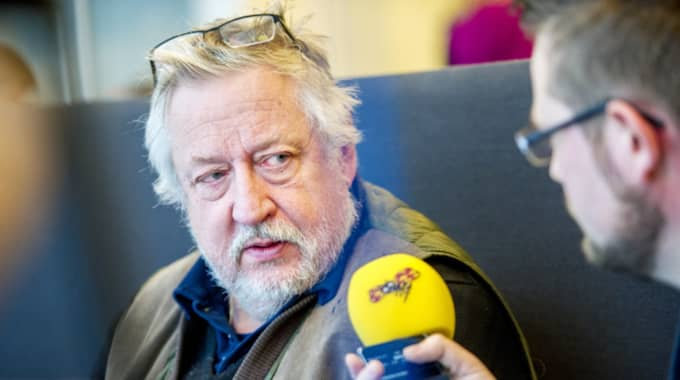 Leif GW Persson berättar nu att han fått kontakt med andra personer, som säger sig ha tillgång till Magnumrevolvrar. Foto: Alex Ljungdahl