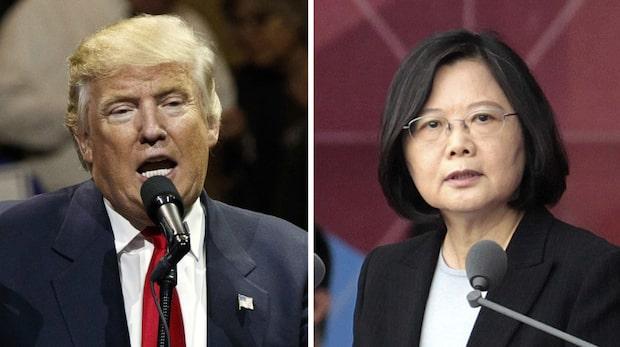 Trumps samtal som kan göra Kina rasande